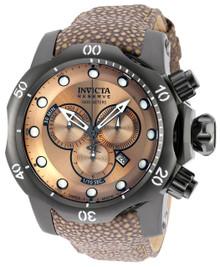 Invicta Men's 18307 Venom Quartz Chronograph Light Brown Dial Watch
