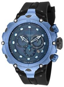 Invicta Men's 18453 Venom Quartz Chronograph Black, Grey Dial Watch