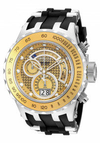 Invicta Men's 18551 Subaqua Quartz Multifunction Gold Dial Watch