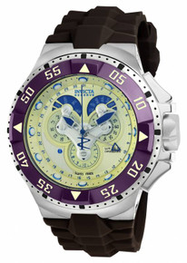 Invicta Men's 18560 Excursion Quartz Multifunction Champagne Dial Watch