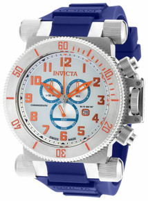 Invicta Men's 18728 Coalition Forces Quartz Chronograph Antique Silver Dial Watch