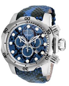 Invicta Men's 19002 Venom Quartz Chronograph Black, Blue, Light Blue Dial Watch