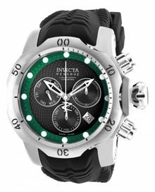 Invicta Men's 19006 Venom Quartz Chronograph Black, Green Dial Watch