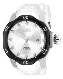 Invicta Men's 19304 Venom Automatic 3 Hand Antique Silver Dial Watch