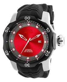 Invicta Men's 19309 Venom Automatic 3 Hand Red, Gunmetal Dial Watch