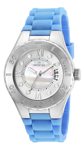 Invicta Women's 19392 Angel Quartz 3 Hand White Dial Watch