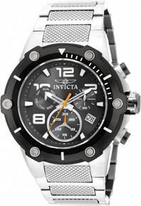 Invicta Men's 19528 Speedway Quartz Chronograph Black Dial Watch