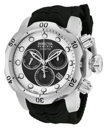 Invicta Men's 19913 Venom Quartz Chronograph Black, White Dial Watch
