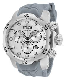Invicta Men's 19914 Venom Quartz Chronograph White, Silver Dial Watch