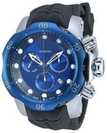 Invicta Men's 19923 Venom Quartz Chronograph Black, Blue Dial Watch