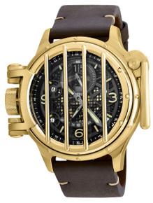 Invicta Men's 20255 Vintage Quartz Multifunction Black Dial Watch