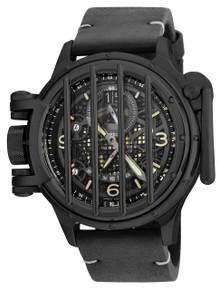 Invicta Men's 20256 Vintage Quartz Multifunction Black Dial Watch