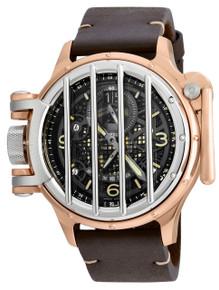Invicta Men's 20259 Vintage Quartz Multifunction Black Dial Watch