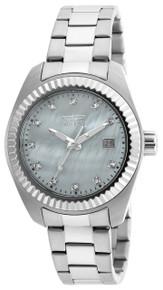 Invicta Women's 20351 Specialty Quartz 3 Hand White Dial Watch