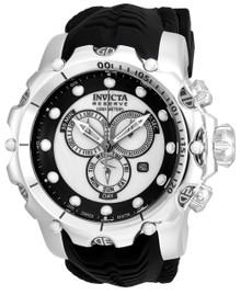 Invicta Men's 20395 Venom Quartz Chronograph Black, White Dial Watch
