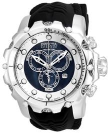 Invicta Men's 20396 Venom Quartz Chronograph Black, Silver Dial Watch