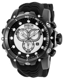 Invicta Men's 20398 Venom Quartz Chronograph Black, White Dial Watch