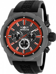 Invicta Men's 20452 TI-22 Quartz Multifunction Black Dial Watch