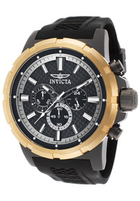 Invicta Men's 20454 TI-22 Quartz Multifunction Black Dial Watch