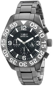 Invicta Men's 20455 TI-22 Quartz Multifunction Black Dial Watch