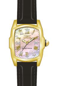 Invicta Men's 20459 Lupah Quartz 3 Hand White Dial Watch
