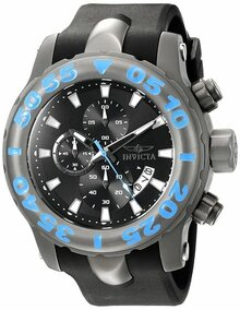 Invicta Men's 20465 TI-22 Quartz Multifunction Black Dial Watch