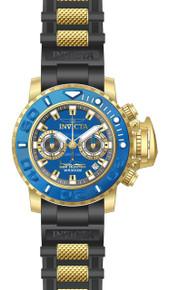 Invicta Men's 20476 Sea Hunter Quartz Multifunction Blue Dial Watch