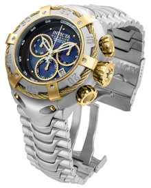 Invicta Men's 21341 Bolt Quartz Chronograph Black Dial Watch
