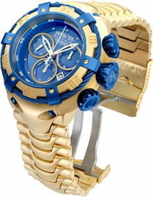 Invicta Men's 21347 Bolt Quartz Chronograph Blue Dial Watch