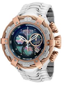 Invicta Men's 21356 Bolt Quartz Chronograph Black Dial Watch
