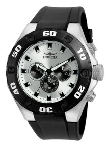 Invicta Men's 21403 Specialty Quartz Multifunction Silver Dial Watch