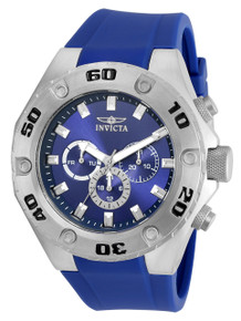 Invicta Men's 21456 Specialty Quartz Multifunction Blue Dial Watch