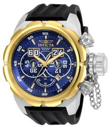 Invicta Men's 21630 Russian Diver Quartz Multifunction Blue Dial Watch