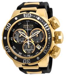 Invicta Men's 21642 Reserve Quartz Chronograph Black, Grey Dial Watch