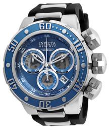 Invicta Men's 21643 Reserve Quartz Chronograph Blue, Grey Dial Watch