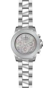 Invicta Men's 21716 Speedway Quartz Chronograph Platinum Dial Watch