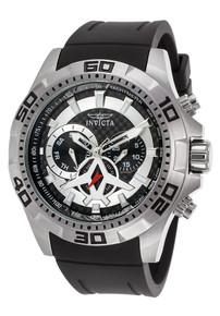 Invicta Men's 21735 Aviator Quartz Multifunction Black Dial Watch