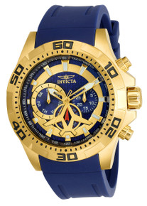 Invicta Men's 21737 Aviator Quartz Multifunction Blue Dial Watch