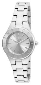 Invicta Women's 21742 Wildflower Quartz 3 Hand Silver Dial Watch