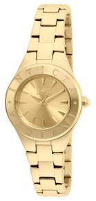 Invicta Women's 21743 Wildflower Quartz 3 Hand Gold Dial Watch