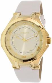 Invicta Women's 21756 Wildflower Quartz 3 Hand Gold Dial Watch