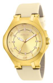 Invicta Women's 21760 Wildflower Quartz 3 Hand Gold Dial Watch