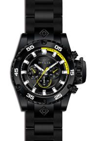 Invicta Men's 21782 Corduba Quartz Chronograph Black, Yellow Dial Watch