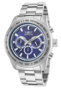 Invicta Men's 21795 Speedway Quartz Chronograph Blue Dial Watch
