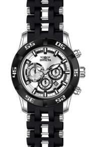 Invicta Men's 21818 Sea Spider Quartz Chronograph Silver Dial Watch
