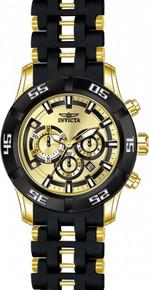 Invicta Men's 21819 Sea Spider Quartz Chronograph Gold Dial Watch