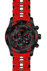 Invicta Men's 21821 Sea Spider Quartz Chronograph Black Dial Watch