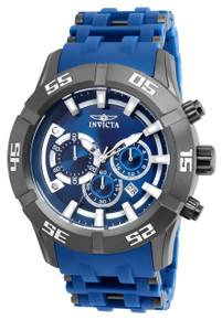 Invicta Men's 21914 Sea Spider Quartz Chronograph Blue Dial Watch