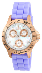 Invicta Women's 21988 Speedway Quartz Chronograph White Dial Watch