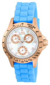 Invicta Women's 21990 Speedway Quartz Chronograph White Dial Watch